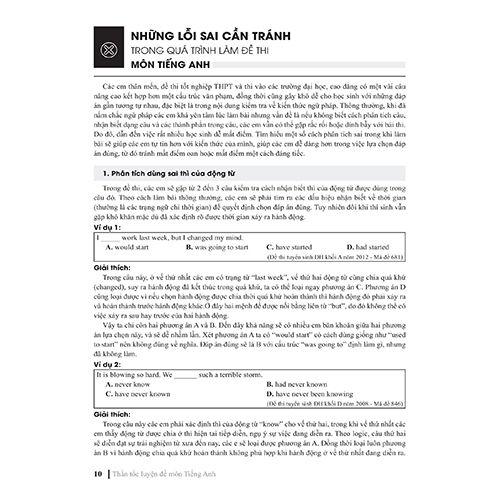 Thần Tốc Luyện Đề 2021 - Môn Tiếng Anh - Chinh Phục Kì Thi Tốt Nghiệp THPT Và Thi Vào Các Trường Đại Học, Cao Đẳng - Ảnh 3