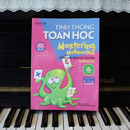 Tinh Thông Toán Học - Mastering Mathematics - Work Book - Dành Cho Trẻ 6 - 7 Tuổi - Quyển B - Ảnh 2