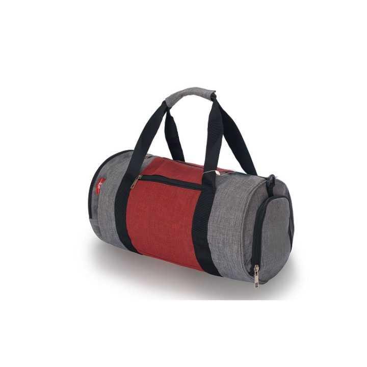 Túi Trống Du Lịch - thể thao, tập Gym Q&A - Xám đỏ - Ảnh 1