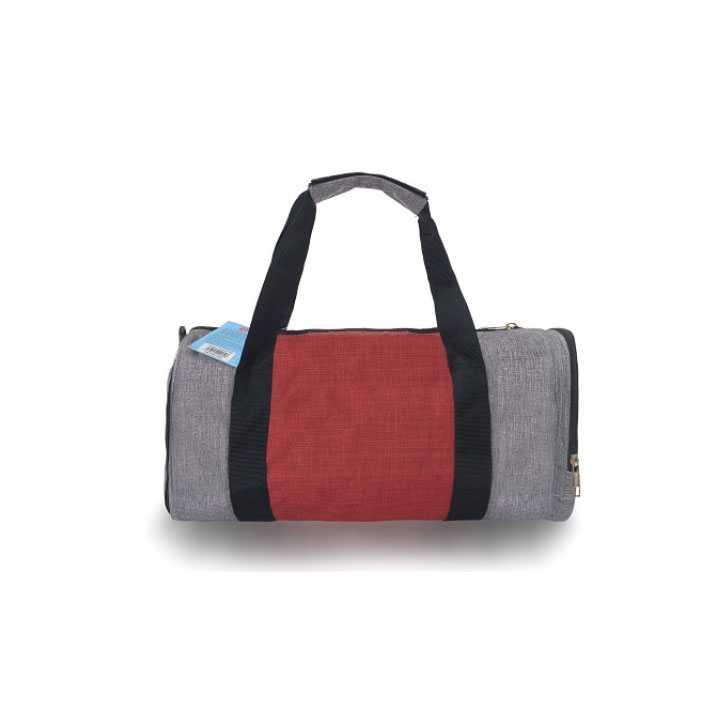Túi Trống Du Lịch - thể thao, tập Gym Q&A - Xám đỏ - Ảnh 2
