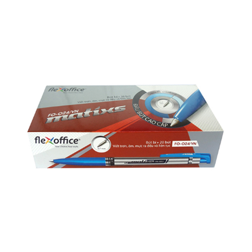 Bút Bi Flexoffice FO-024 (Hộp 20 Cây) - Ảnh 5