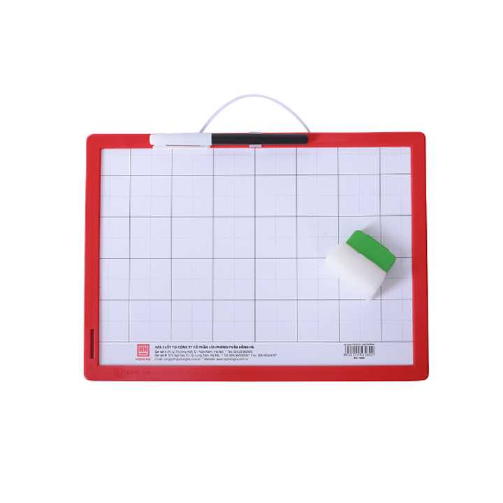 Bảng nhựa học sinh Friendly 3289 - dùng bút và phấn - Ảnh 1