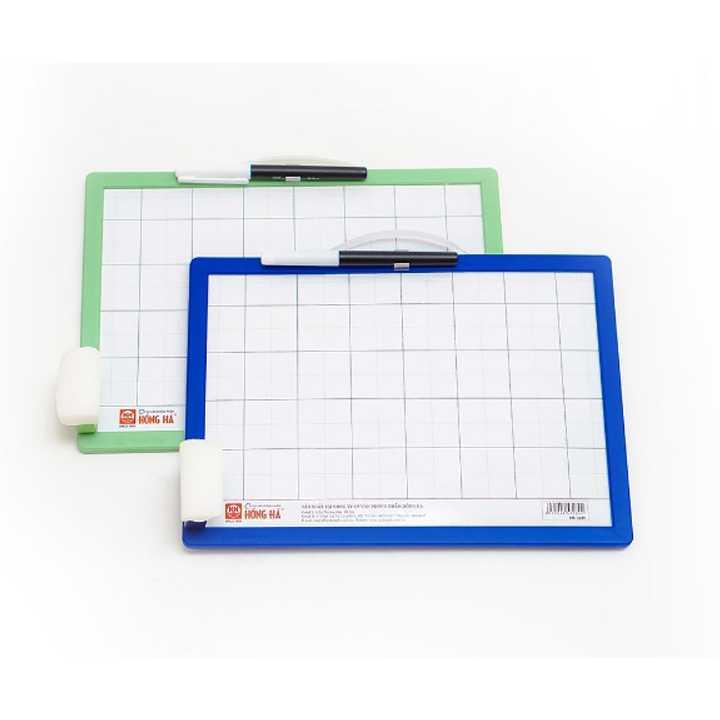 Bảng nhựa học sinh Friendly 3289 - dùng bút và phấn