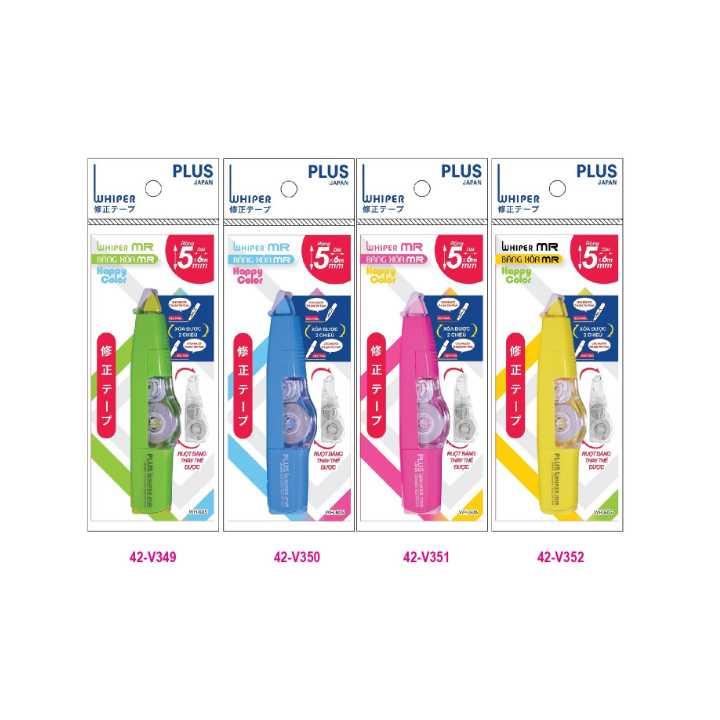 Băng Xóa Plus MR Happycolor 5mm X 6m - Ảnh 2