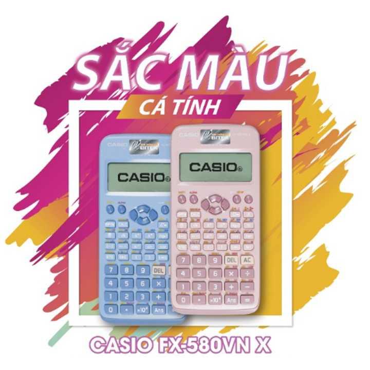 CASIO FX-580VN X PK MÀU XANH - Ảnh 2
