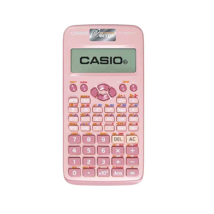 CASIO FX-580VN X PK MÀU HỒNG