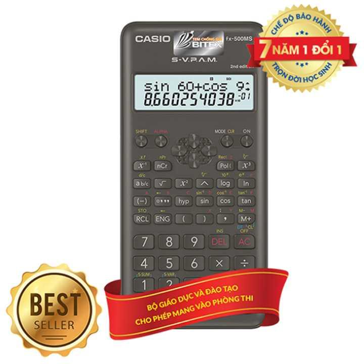 Máy Tính Học Sinh Casio FX500 MS
