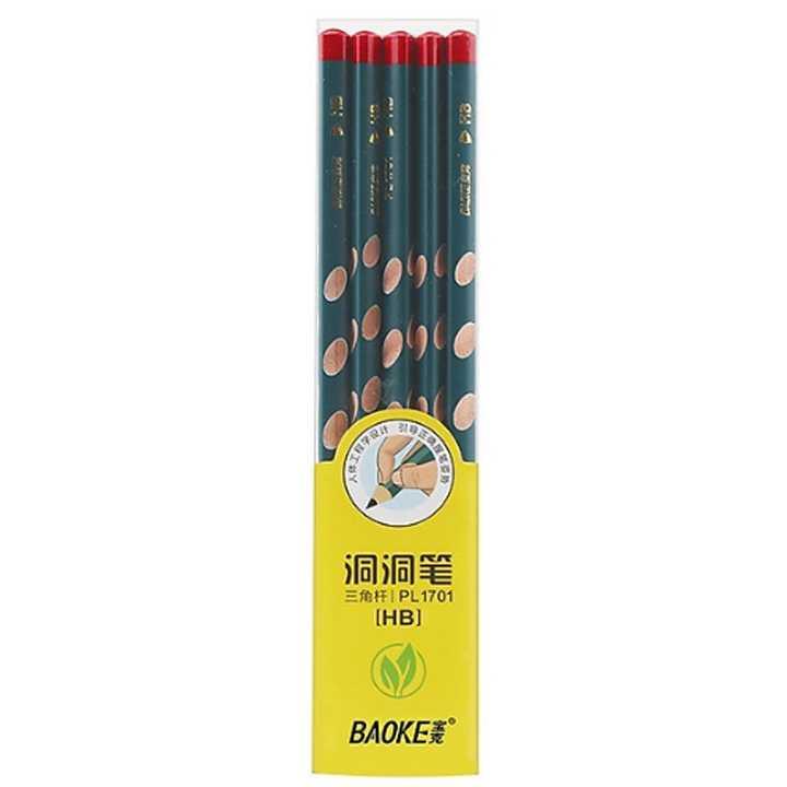 Bút Chì Tập Viết HB - Baoke PL1701 (Hộp 10 Chiếc)