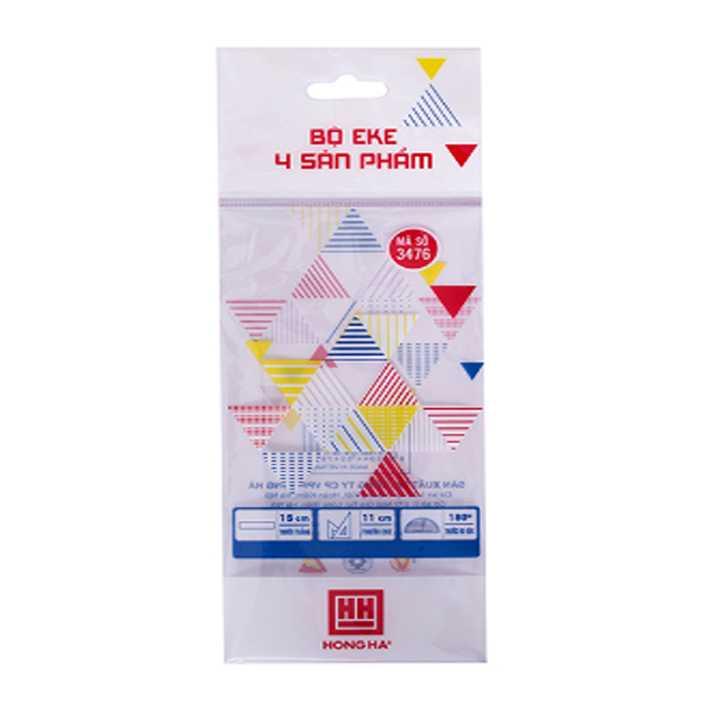 Bộ eke 4 sản phẩm Hồng Hà (3476)