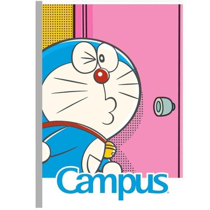 Vở Kẻ Ngang Campus 120 Trang Có Chấm Doreamon Smile - Ảnh 1
