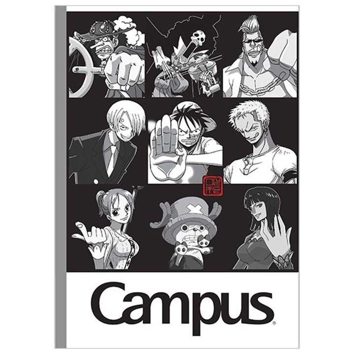 Vở Kẻ Ngang Campus 120 Trang One Piece Black & White - Ảnh 1