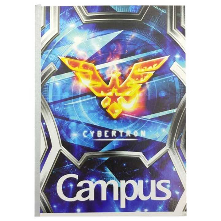 Vở Kẻ Ngang Campus 200 Trang Có Chấm Cybertron