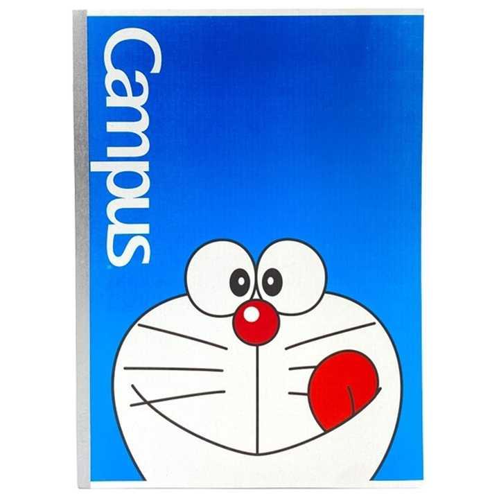 Vở Kẻ Ngang Campus 200 Trang Có Chấm Doraemon Smile
