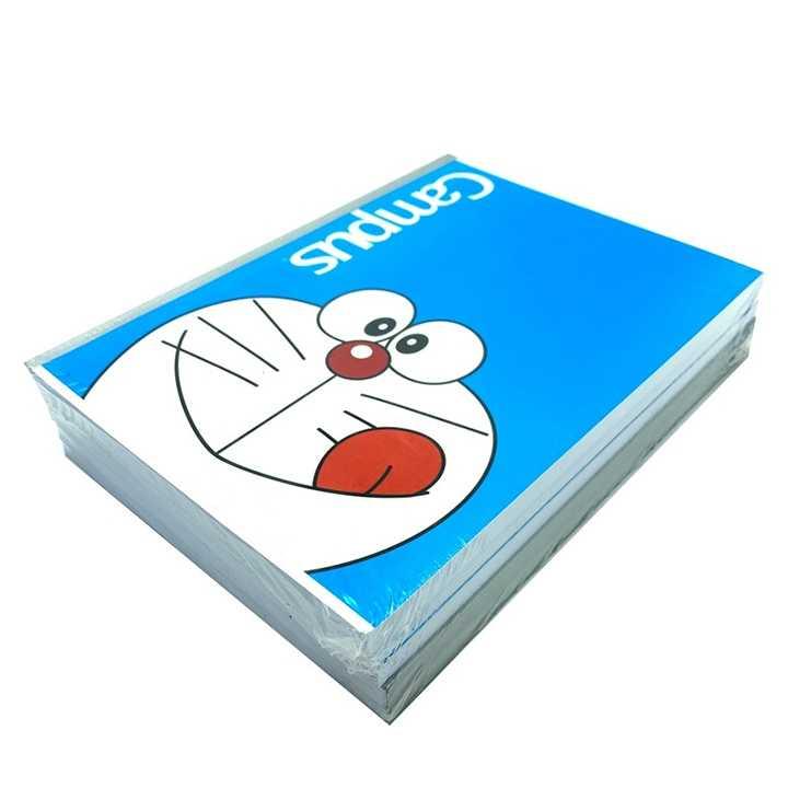 Vở Kẻ Ngang Campus 200 Trang Có Chấm Doraemon Smile - Ảnh 1