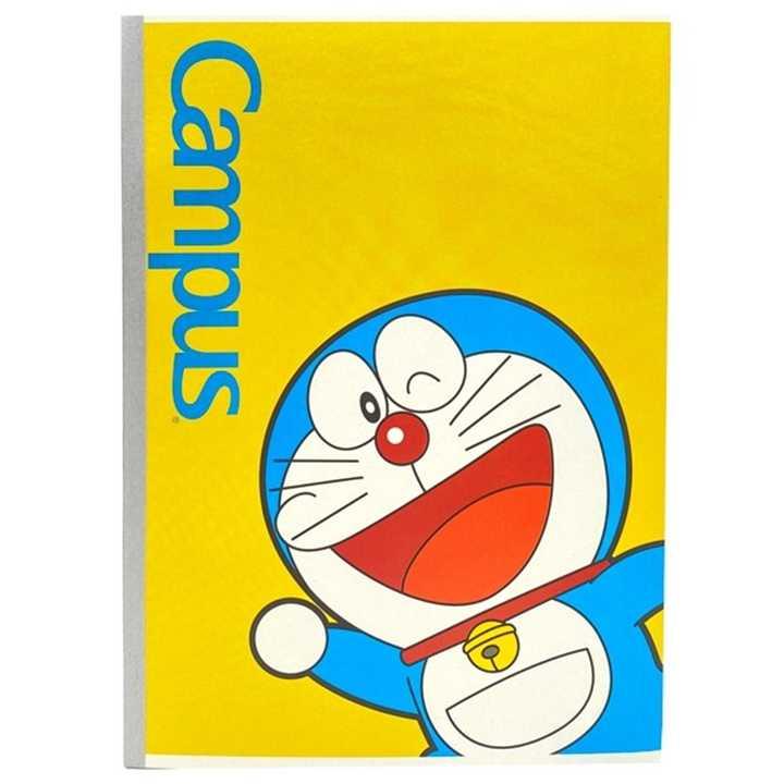 Vở Kẻ Ngang Campus 200 Trang Có Chấm Doraemon Smile - Ảnh 2