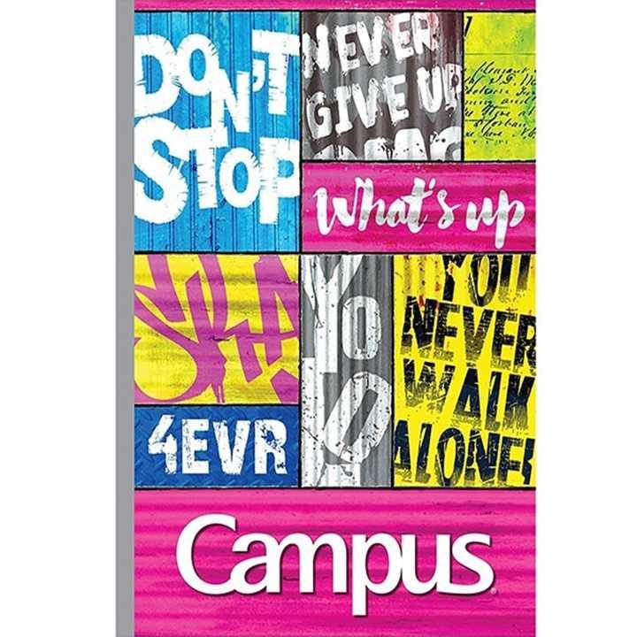 Vở Kẻ Ngang Campus 80 Trang Có Chấm  Believable