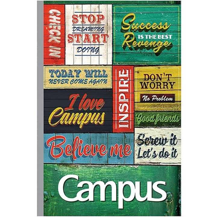 Vở Kẻ Ngang Campus 80 Trang Có Chấm  Believable - Ảnh 1