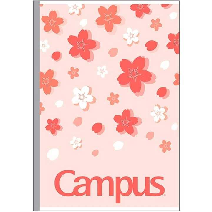 Vở Kẻ Ngang Campus 80 Trang Có Chấm Sakura
