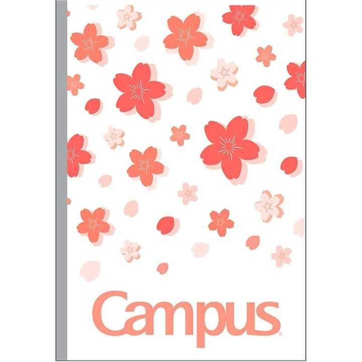 Vở Kẻ Ngang Campus 80 Trang Có Chấm Sakura - Ảnh 2