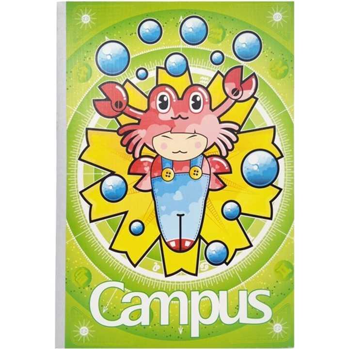 Vở Kẻ Ngang Campus 80 Trang Có Chấm Smart