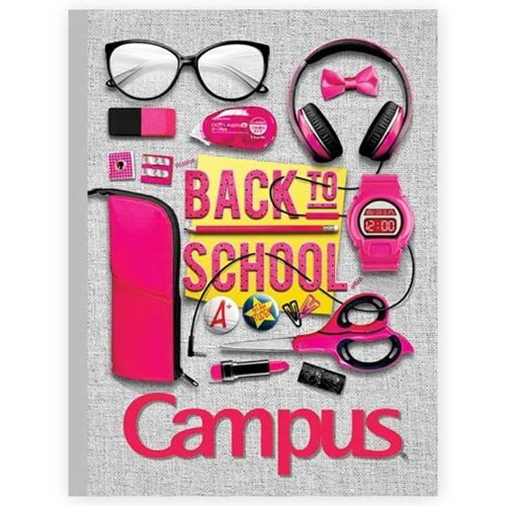 Vở Kẻ Ngang Campus 80 Trang Life Style - Ảnh 1