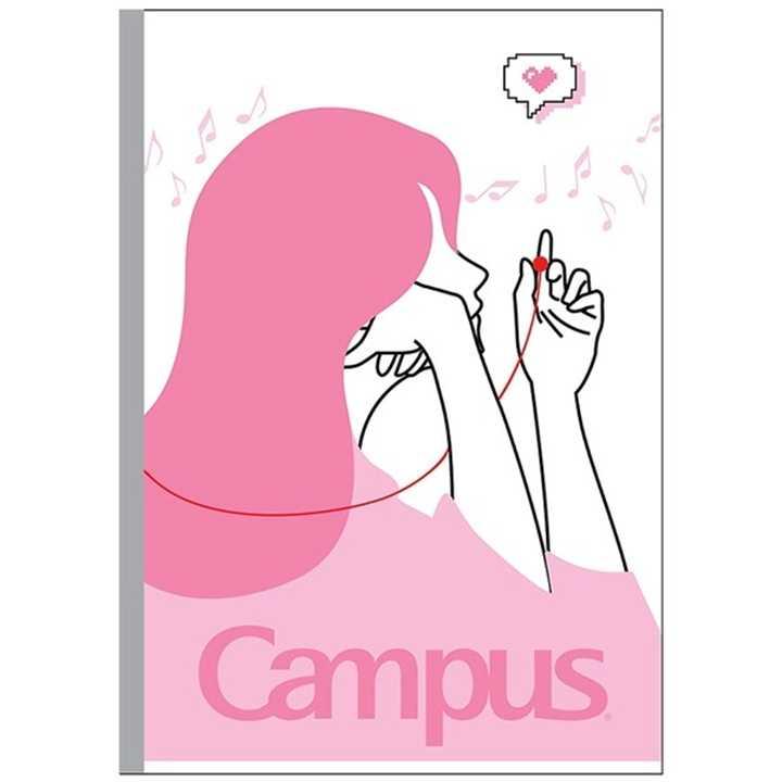 Vở Kẻ Ngang Campus 120 Trang Có Chấm Couple
