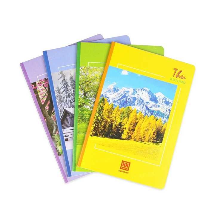 Vở kẻ ngang 120 trang Pupil Bốn mùa 1001 - Ảnh 1
