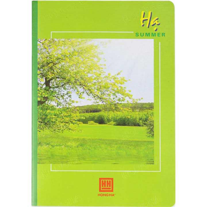 Vở kẻ ngang 120 trang Pupil Bốn mùa 1001 - Ảnh 2