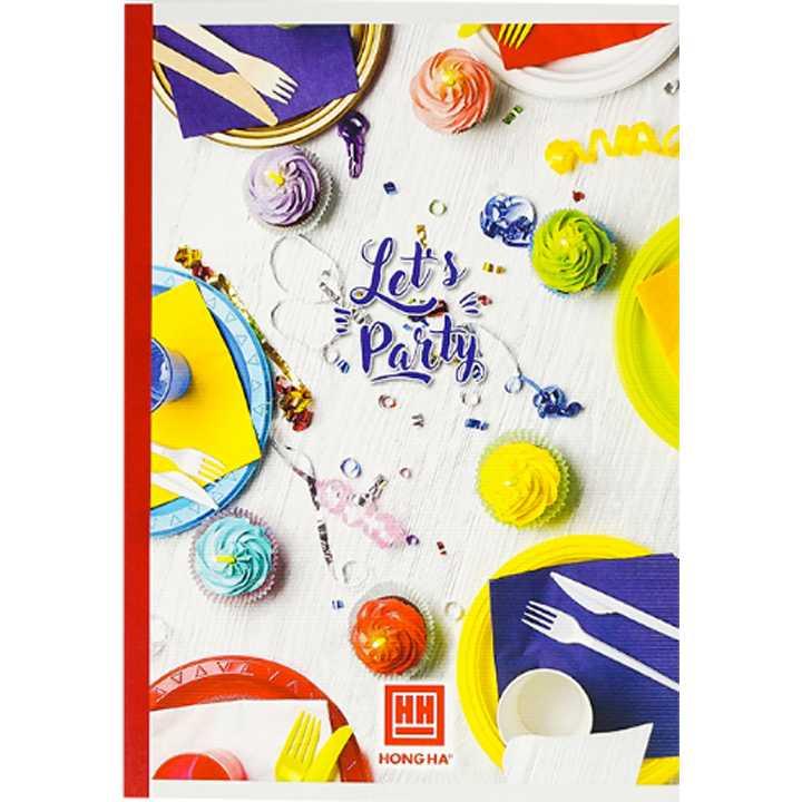 Vở Kẻ Ngang 80 trang Study Let's Party 1424 - Ảnh 2