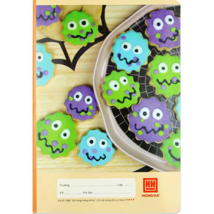 Vở 4 Ô ly 200 trang School Monster 0588 - Ảnh 2